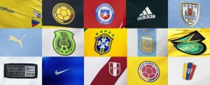 All teams kits Copa America 2016