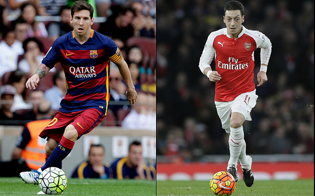 Barca Vs Arsenal