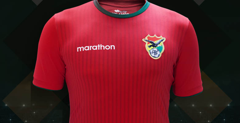 Bolivia Away Kit for Copa America 2016