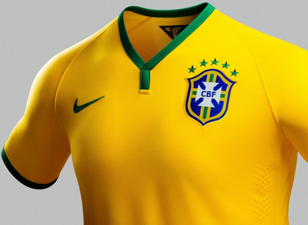 Brazil Home Kit for Copa America 2016