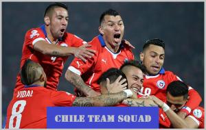Chile team squad 2016