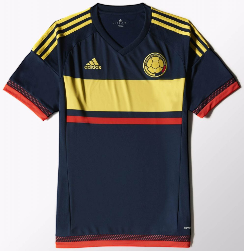 Colombia Away Kit for Copa America 2016