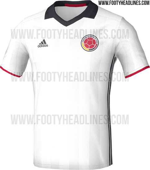 Colombia Home Kit for Copa America 2016