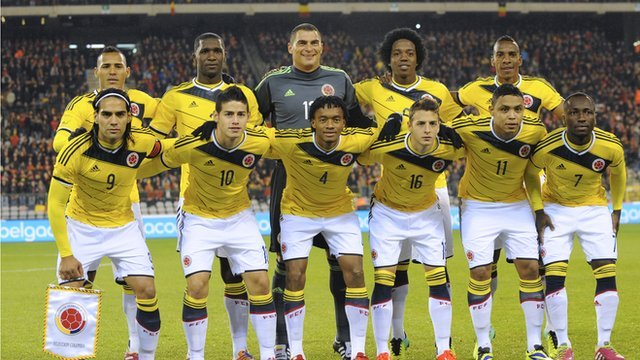 Colombia team squad for Copa America 2016