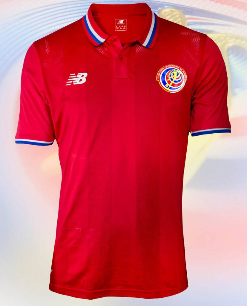 Costa Rica Home Kit for Copa America 2016