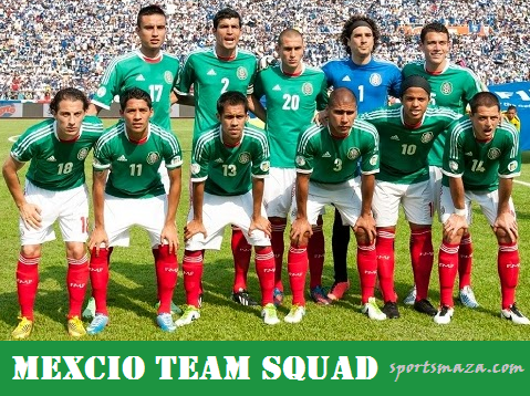 Mexican team squad