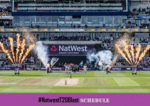 NatWest T20 Blast 2017 Match Schedule, Time & Date (Announced)