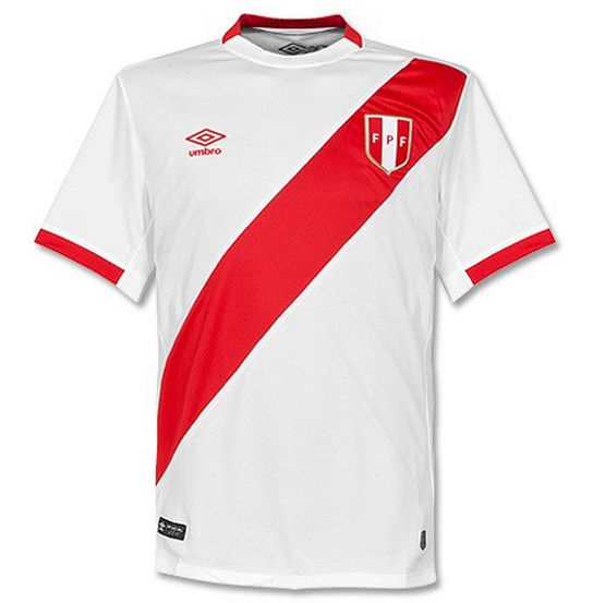 Peru Home Kit for Copa America 2016