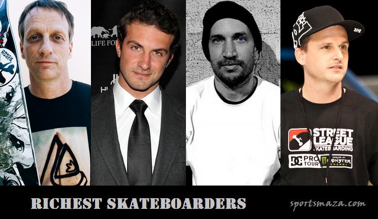 Richest skateboarders