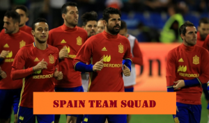 Spain Team Squad Prediction for World Cup 2018