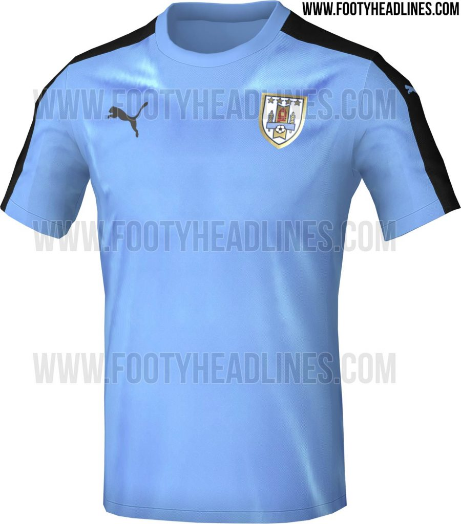 Uruguay Home Kit for Copa America 2016