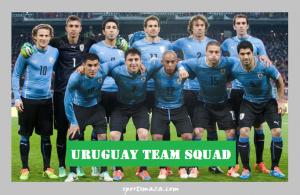 15 Times Winner Uruguay Team Squad for 2016 Copa America (Suarez is ready)