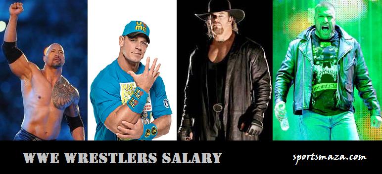 WWE Wresters salary
