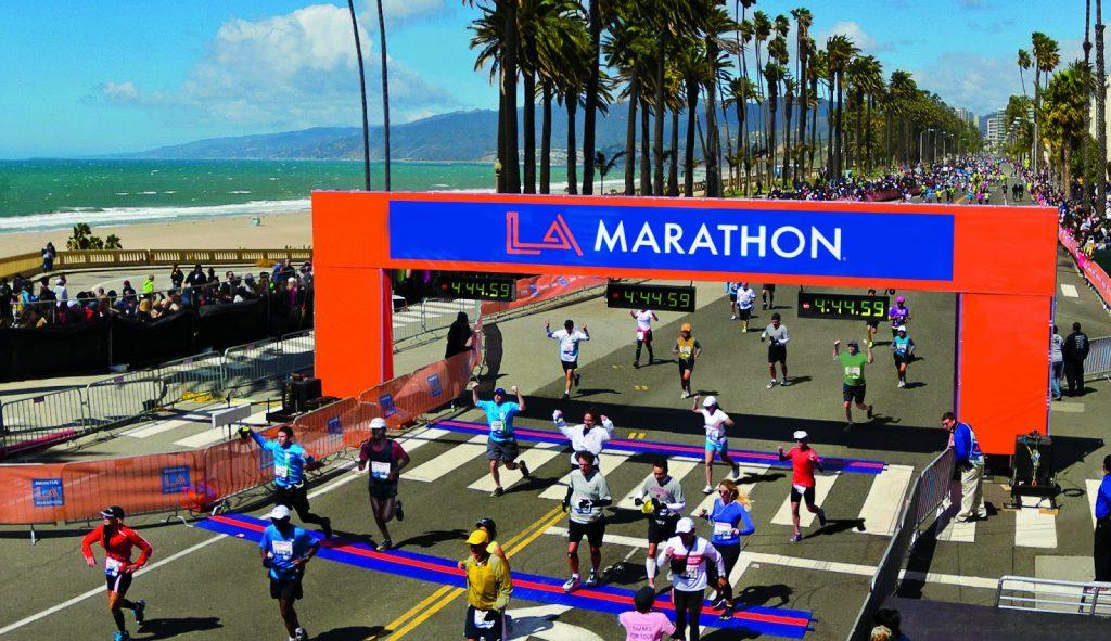 L.A.marathon