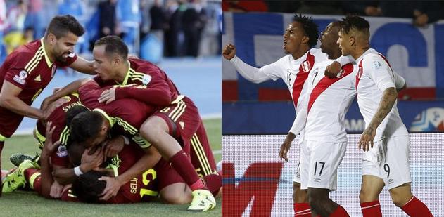 Venezuela Vs Peru