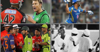6 Greatest Cricket Fight & Sledges (+Video)