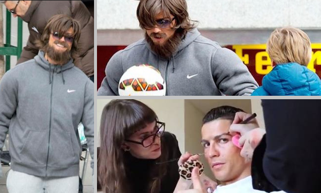 ronaldo surprise in madrid's street