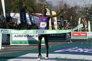 Paris Marathon 2016: Results & Highlights Video [Champion -Cyprian Kotut]