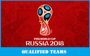 FIFA World Cup 2018 Russia Qualified Teams List