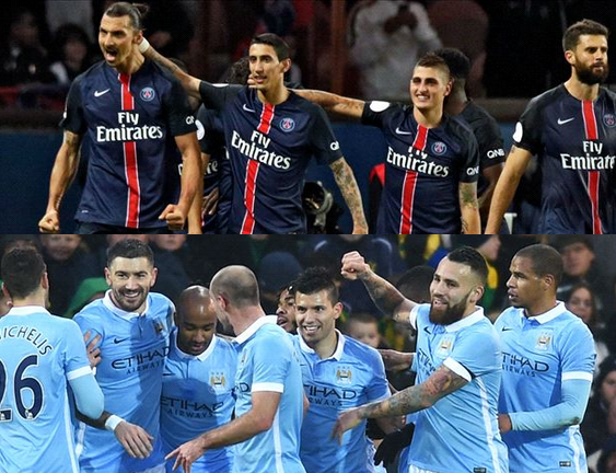 Manchester city Vs PSG