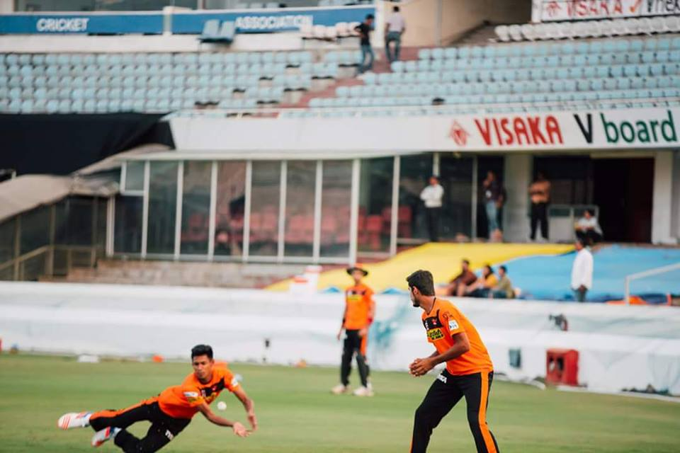 Musfatiz for Sunrisers Hyderabad