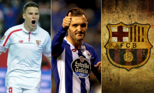 Kevin Gameiro and Lucas Perez become the new target of Barcelona for summer