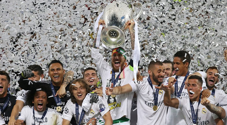 Madrid won title