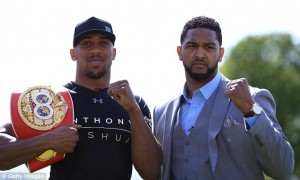 Anthony Joshua Vs Dominic Breazeale (25 June, 2016): Preview & Live Coverage link