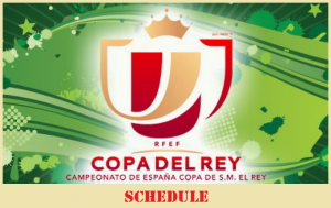 Copa Del Rey Schedule: Expected Time frame to start & finish