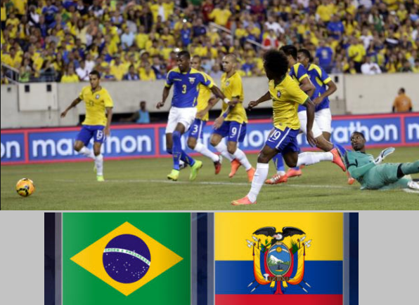 Ecuador Vs Brazil