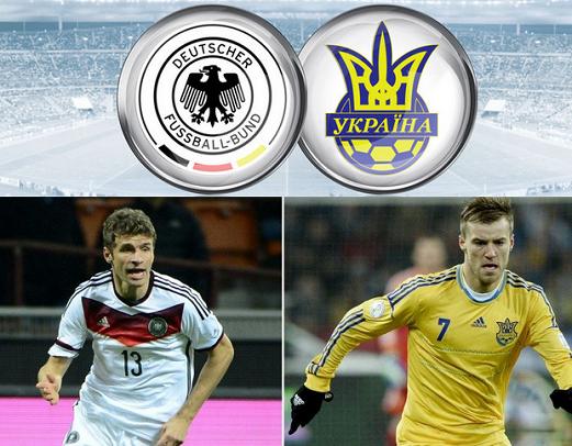 Germany Vs Ukraine
