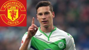 Manchester United trimming up  £30 million bid for German left winger Julian Draxler
