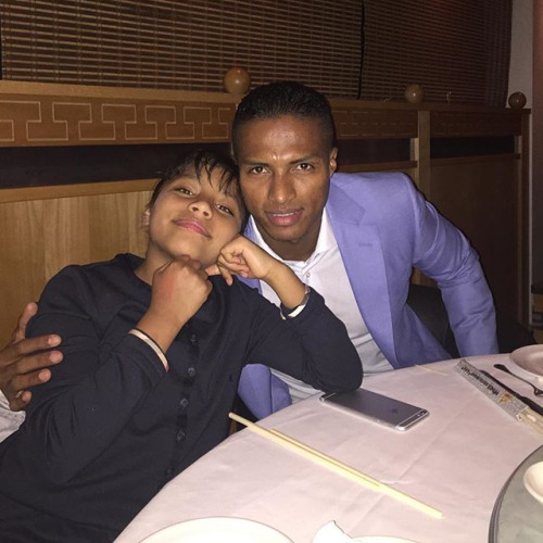 Kids of Antonio Valencia 2