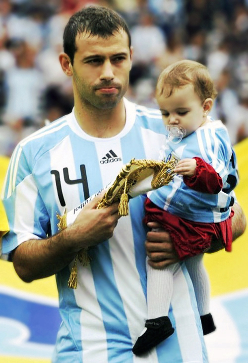 Kids of Javier Mascherano 3