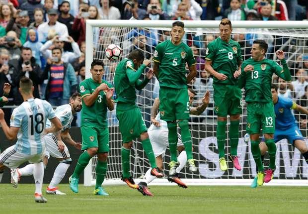 Lamela goal against Bolivia