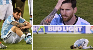 No one can see Leo Messi anymore in Argentine Jersey
