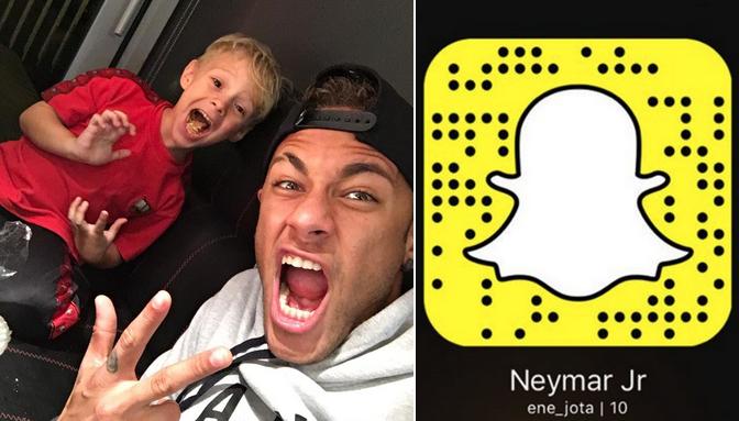Neymar SnapChat name
