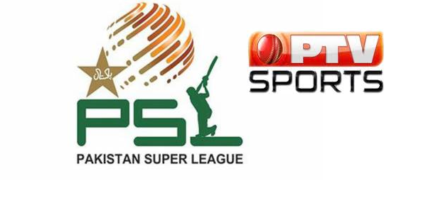 PSL broadcast by PTV Sports