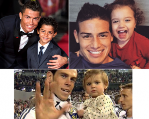 Kids of Real Madrid Players (Short Biography & Photos)