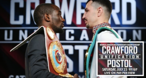 Terence Crawford Vs Viktor Postol (PPV Fight): TV Watching Guide (23 July, 2016)