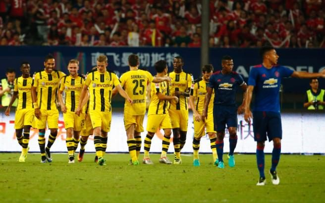 MU Vs Dortmund
