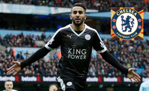 Leicester city icon Riyad Mahrez is set to join Chelsea: €50 million deal is close
