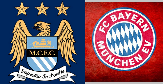 Man city Vs Bayern Munich