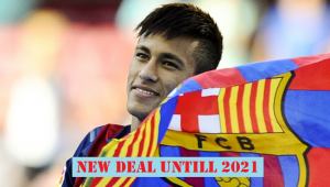 Neymar renewed contract with Barcelona until 2021 for the sake of €250 million