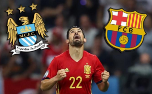 Spanish left winger Nolito joined Manchester City by rejecting Barcelona