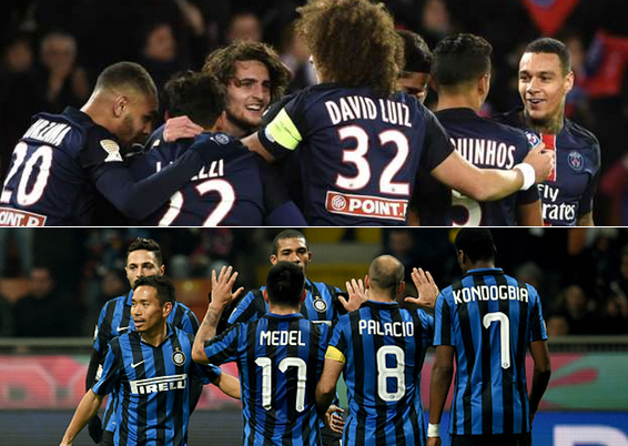 PSG Vs Inter