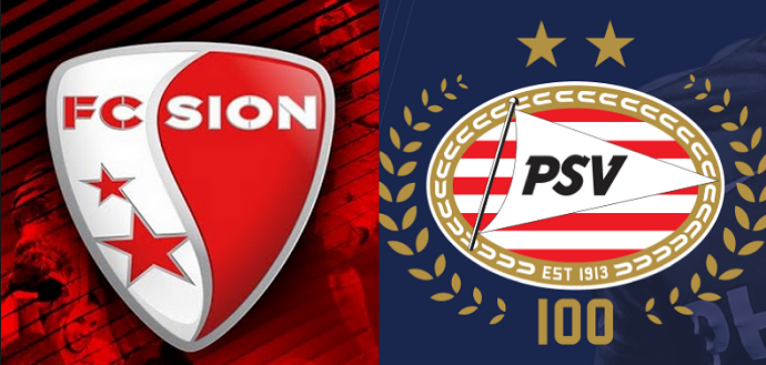 PSV Vs Sion