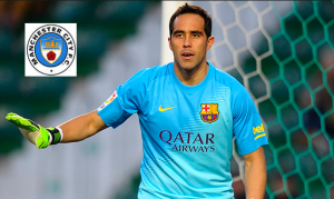 Man City terminated their second goalkeeper option to Barcelona's Bravo