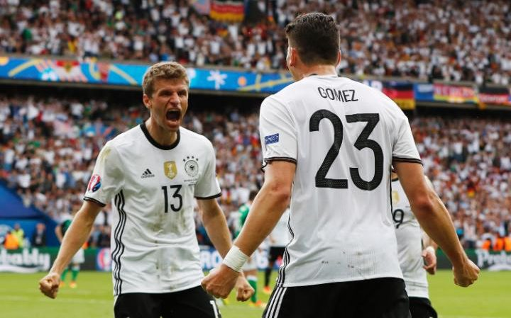 Germany scored goal