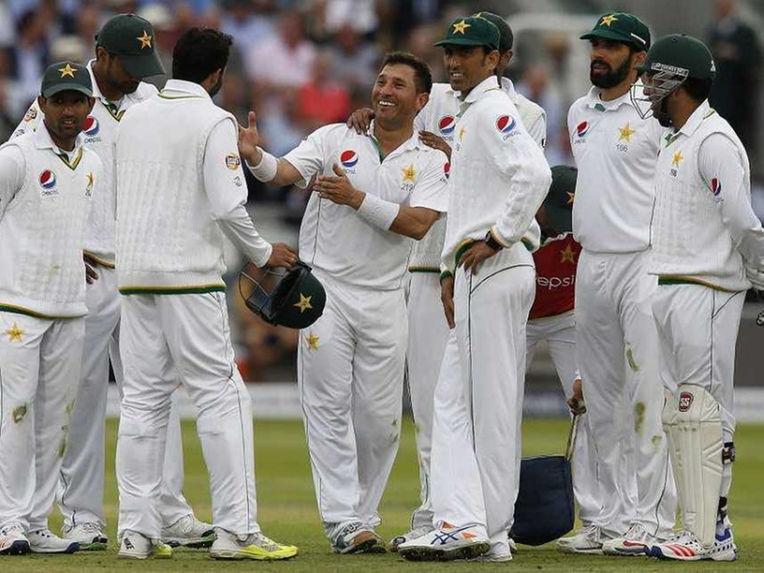 Pak test winning